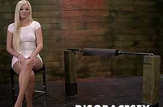 Jenna Ivory is Tormented on the Sybian and Fucked real Hard xxx porn
