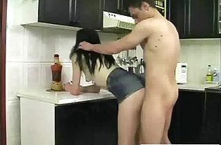 Creampie kitchen xxx tube video