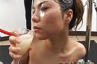 Big load bukkake and swallow girl Japanese Uncensored xxx tube video