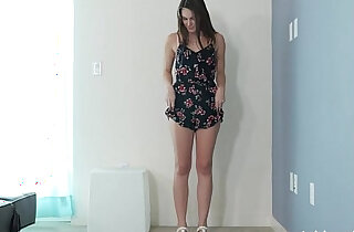 Innocent Reserved Coed Makes first Sex Tape For Fake Modeling Job xxx tube video