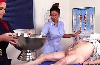 Cfnm nurses suck patient xxx tube video