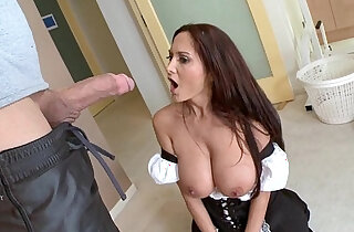 Sexy MILF in Maid Outfit xxx tube video