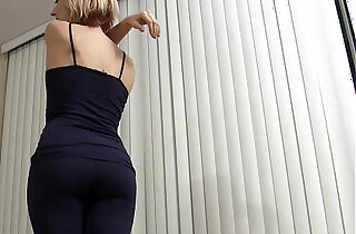 Wearing yoga panties makes my pussy so wet JOI xxx tube video
