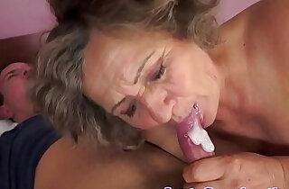 Chubby grandma orally pleasured xxx tube video