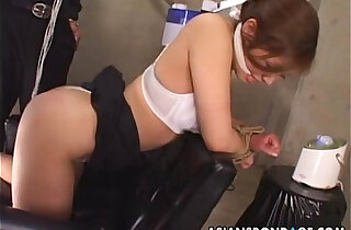 Asian office worker submited to a precise bdsm session xxx tube video