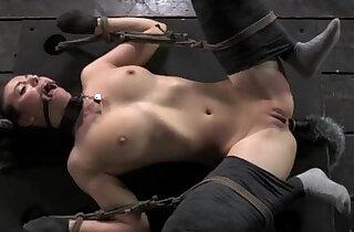 Kitten play in bondage mittens tied down xxx tube video