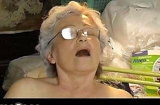 Old chubby Granny masturbate xxx tube video