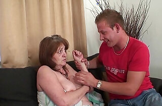 Old mother in law forced into taboo sex xxx tube video