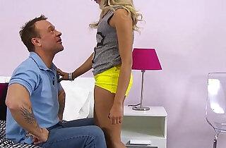 ExxxtraSmall Petite blonde Tinslee Reagan hardcore fucked xxx tube video