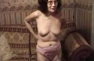 Grandmother Stripping And Masturbating xxx tube video
