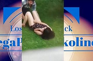 Estudiantes pillados en patio del UACH xxx tube video