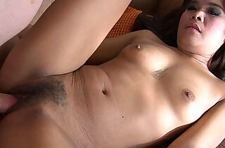 Adorable little Thai chick sucks a nice dick and gets her ass banged xxx tube video