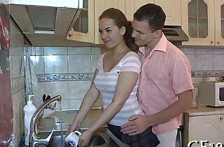 His girlfriend getting screwed hard xxx tube video