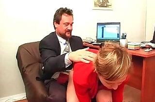 Boss nails horny secretary in office xxx tube video