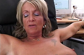 Blonde Mature Office Boss Anal Fucked By Applicant xxx tube video