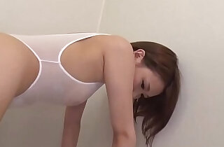 Hot toy stimulation Japan sex with her young Mao Mizusawa