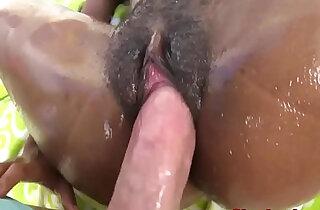 Bigtits ebony pornstar sucks fucks black cock xxx tube video