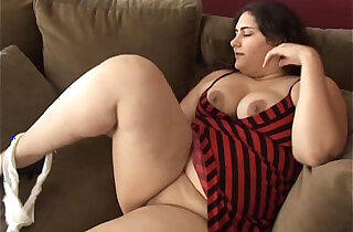 Beautiful big belly, boobs booty BBW wishes you were fucking her fat pussy xxx tube video