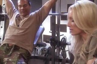 sue diamond fucks marine in gym roon xxx tube video