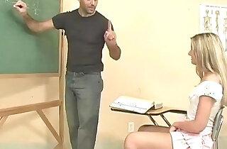 Schoolgirls panties get wet during class xxx porn
