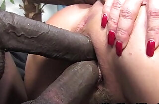 Janet Mason makes her son watch as she fucks a big black mamba cock xxx tube video