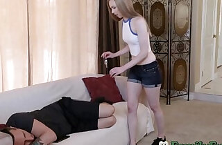 Naughty Sister Feels Brothers Cock Inside Her xxx tube video
