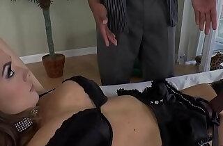 Strapon loving dominatrix disciplines her bf xxx tube video