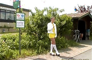 German Doll loves being picked up xxx tube video