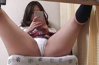 Hidden cam under the desk japanese babe xxx tube video