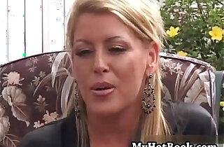 Chelsea Zinn is a wild blonde MILF who bit off wa xxx tube video