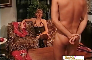 Mistress Disciplines Her New Paying Client xxx tube video