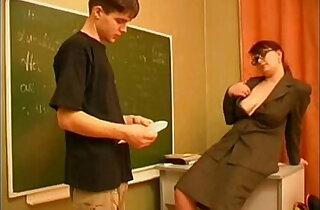 Russian teacher and boy xxx tube video
