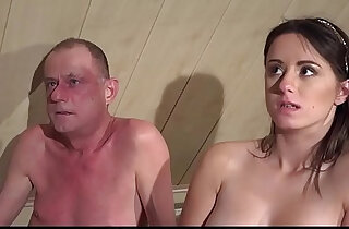 Virgins Jump on Grandpa Cock fucks His Brains Out in Threesome Sex xxx tube video