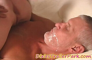 The Milf DAUGHTER, Daddy and the CREAM PIE EATING xxx tube video