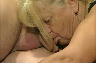 Two granny fucked in foursome action xxx tube video