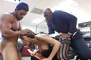 Hot Ebony Screwed By Huge monster Black Cock In Her Ass xxx tube video