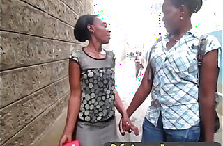 Passionate Black Lesbians Kiss And Fuck In Bathroom xxx tube video