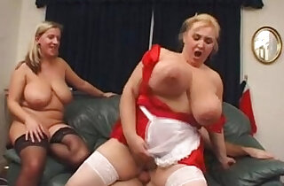 BBW Marie Louise and Samantha pornvideo.rodeo xxx tube video