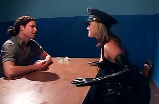 Naughty female cop fucking in latex lingerie xxx tube video