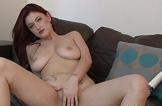 Big Natural Breasts and Horny Masturbation Orgasm xxx tube video