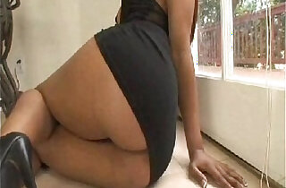 Big Black Ass Meets Big White Cock xxx tube video