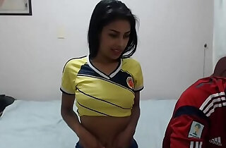 Colombian couple having fun on webcam xxx tube video