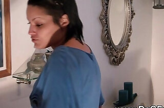 Fucking and squirting in the bathroom xxx tube video