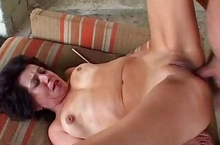 Granny hard anal sex from grandpa xxx tube video