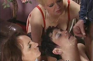 Real nasty granny orgy scene xxx tube video