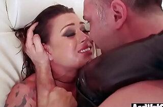 Big Ass Girl Eva Angelina Get Oiled And Enjoy deep Anal Hardcore Sex video xxx tube video