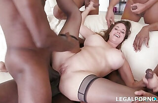 Busty Milf Cathy Heaven gets asshole smashed by BBCs xxx tube video