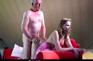 Experienced young escort ass rimming in the craziest fuck each other with old man xxx tube video