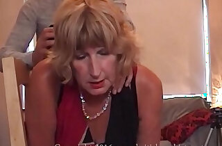 British mature slut gets his ass fucked and swallows a mouthful of cum xxx tube video