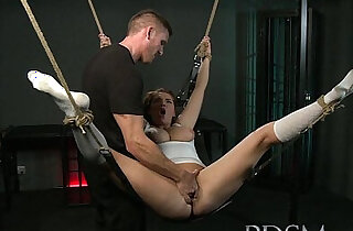 BDSM XXX Suspened subs are here to please their Mistress and Master xxx tube video